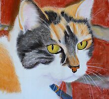 Lady Winkle of York    --Calico Cat by Jean Farquhar
