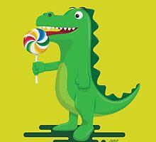 Dino Like Lolipop by ARVwerks