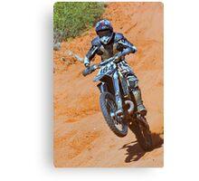 Bike 184 - Finke 2011 Day 2 Canvas Print