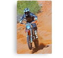 Bike 146 - Finke 2011 Day 2 Canvas Print