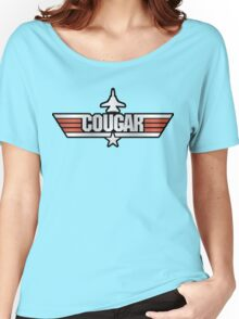 Top Gun Cougar (with Tomcat) Women's Relaxed Fit T-Shirt
