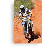 Bike 270 - Finke 2011 Day 2 Canvas Print