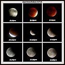 Supermoon & Eclipse - September 27, 2015 by Susan S. Kline