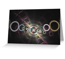 Carnival night Greeting Card