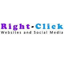 Right-Click Websites and Social Media Photographic Print