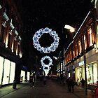 Christmas Lights, Dublin by colettelydon