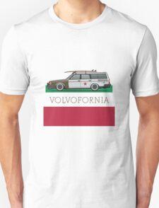 Volvofornia Slammed Volvo 245 240 Wagon California Style Unisex T-Shirt