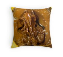 Pickled Walnut Throw Pillow