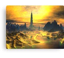 Odin's Hall - Valhalla - Planet Asgard Canvas Print