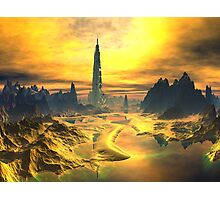 Odin's Hall - Valhalla - Planet Asgard Photographic Print
