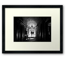 There is light at the end Framed Print