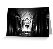 There is light at the end Greeting Card