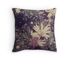 There's a Flower on Your Crown Throw Pillow