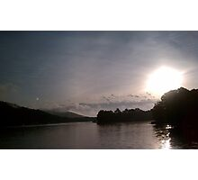 Sunrise on the Coosa River Photographic Print