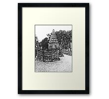 Ancient Stupa Framed Print