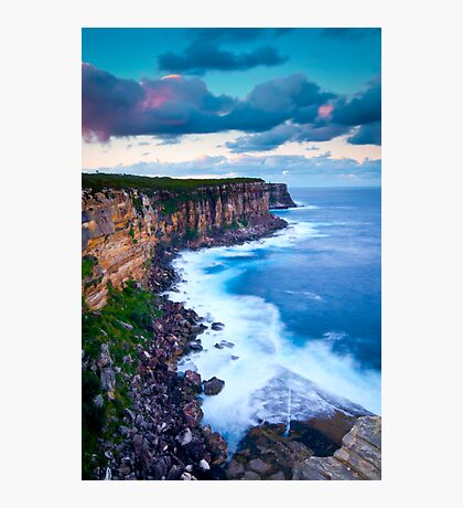 Cliffs at North Head Photographic Print