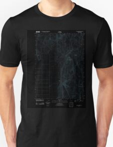 USGS Topo Map Oregon Mahon Creek 20110831 TM Inverted T-Shirt