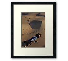 Dianne's Dune Framed Print