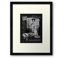 Taking Tea with Clara Butt Framed Print