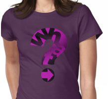 WHAT(PINK) Womens Fitted T-Shirt