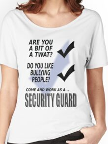 Security guard.  Women's Relaxed Fit T-Shirt