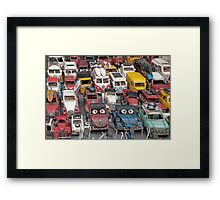Toys around the Med Framed Print