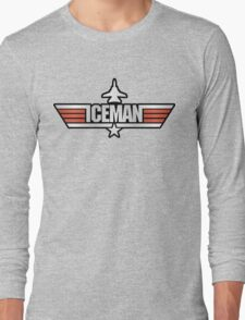 Top Gun Iceman (with Tomcat) Long Sleeve T-Shirt