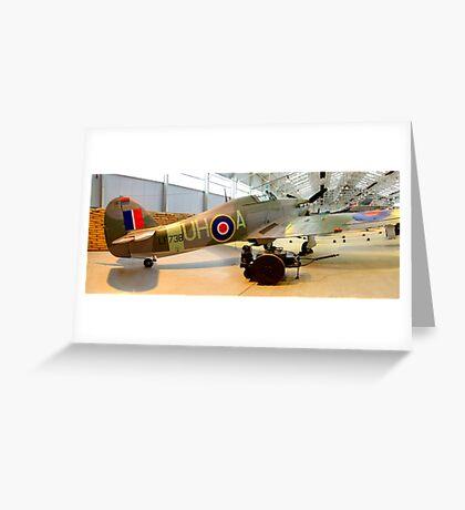 Hurricane - RAF Cosford Greeting Card