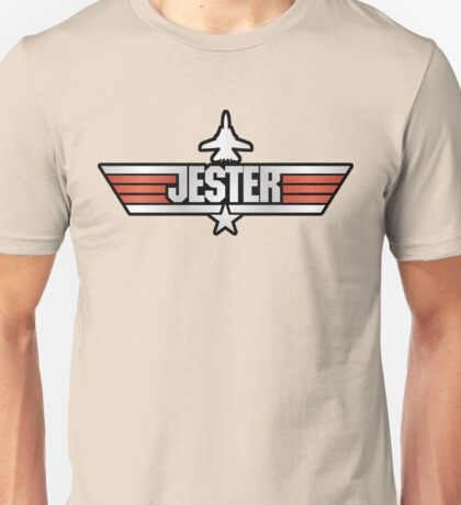 Top Gun Jester (with Tomcat) Unisex T-Shirt