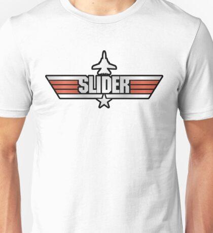 Top Gun Slider (with Tomcat) Unisex T-Shirt