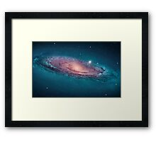 Andromeda Galaxy, space, astrophysics, astronomy Framed Print