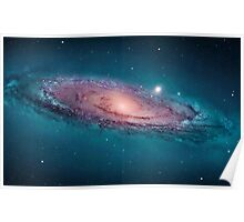 Andromeda Galaxy, space, astrophysics, astronomy Poster