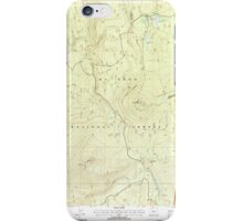 USGS Topo Map Oregon Pinhead Buttes 281102 1997 24000 iPhone Case/Skin