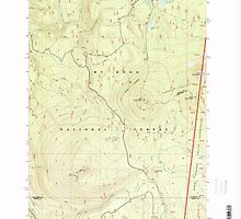 USGS Topo Map Oregon Pinhead Buttes 281102 1997 24000 by wetdryvac