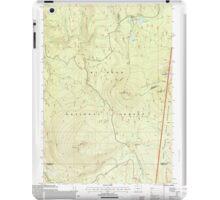 USGS Topo Map Oregon Pinhead Buttes 281102 1997 24000 iPad Case/Skin