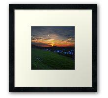Markersbach Framed Print