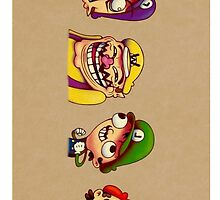 Super Mario Meme Style by RedRoseCase77