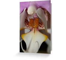 Orchid Tounge Greeting Card