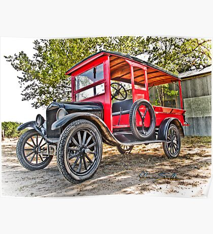 Model T Delivery Poster