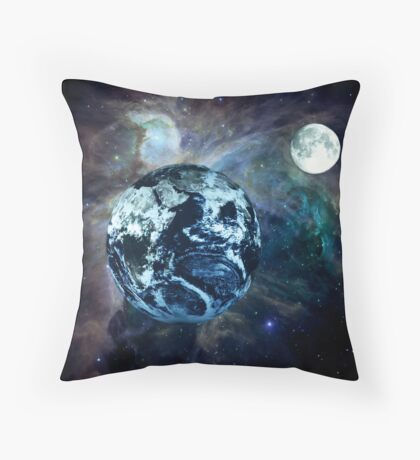 In Orbit Throw Pillow