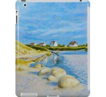 Lokken Beach in Jylland, Denmark in the early evening iPad Case/Skin