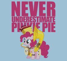 Never Underestimate Pinkie Pie Kids Tee
