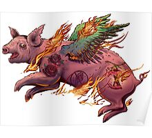Porky Panic Poster