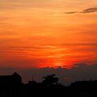 Sunset in Verona by John Wallace