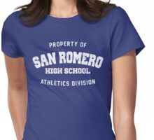 San Romero High School (worn look) Womens Fitted T-Shirt