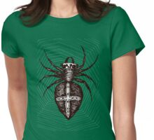 Giant brown spider Womens Fitted T-Shirt