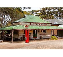 Australian Heritage Town General Store Photographic Print