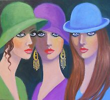 THE GOSSIP GIRLS by Dian Bernardo