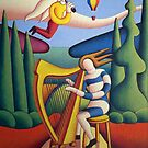 The Harpist by Alan Kenny