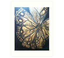 Not a Butterfly Art Print